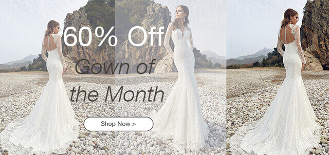 60% Off Gown of the Month!
